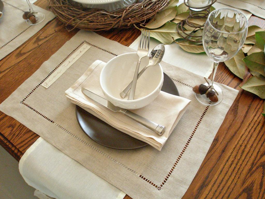 тканевые салфетки на стол