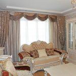 плотные шторы классические