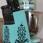 подставка для ножей своими руками декор