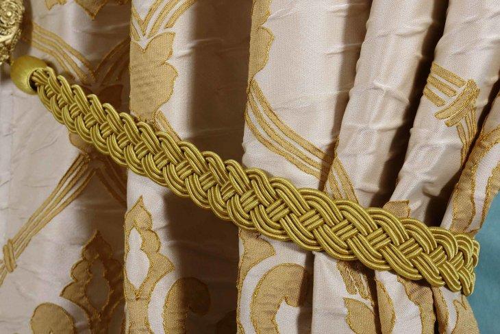 подвязки для штор косы