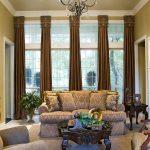 вертикальные шторы в гостиной