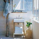 вешалка для полотенец в ванной фото идеи