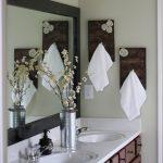 вешалка для полотенец в ванной идеи интерьер