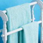 вешалка для полотенец в ванную дизайн идеи