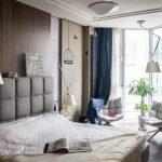 занавески в спальню длина идеи дизайн