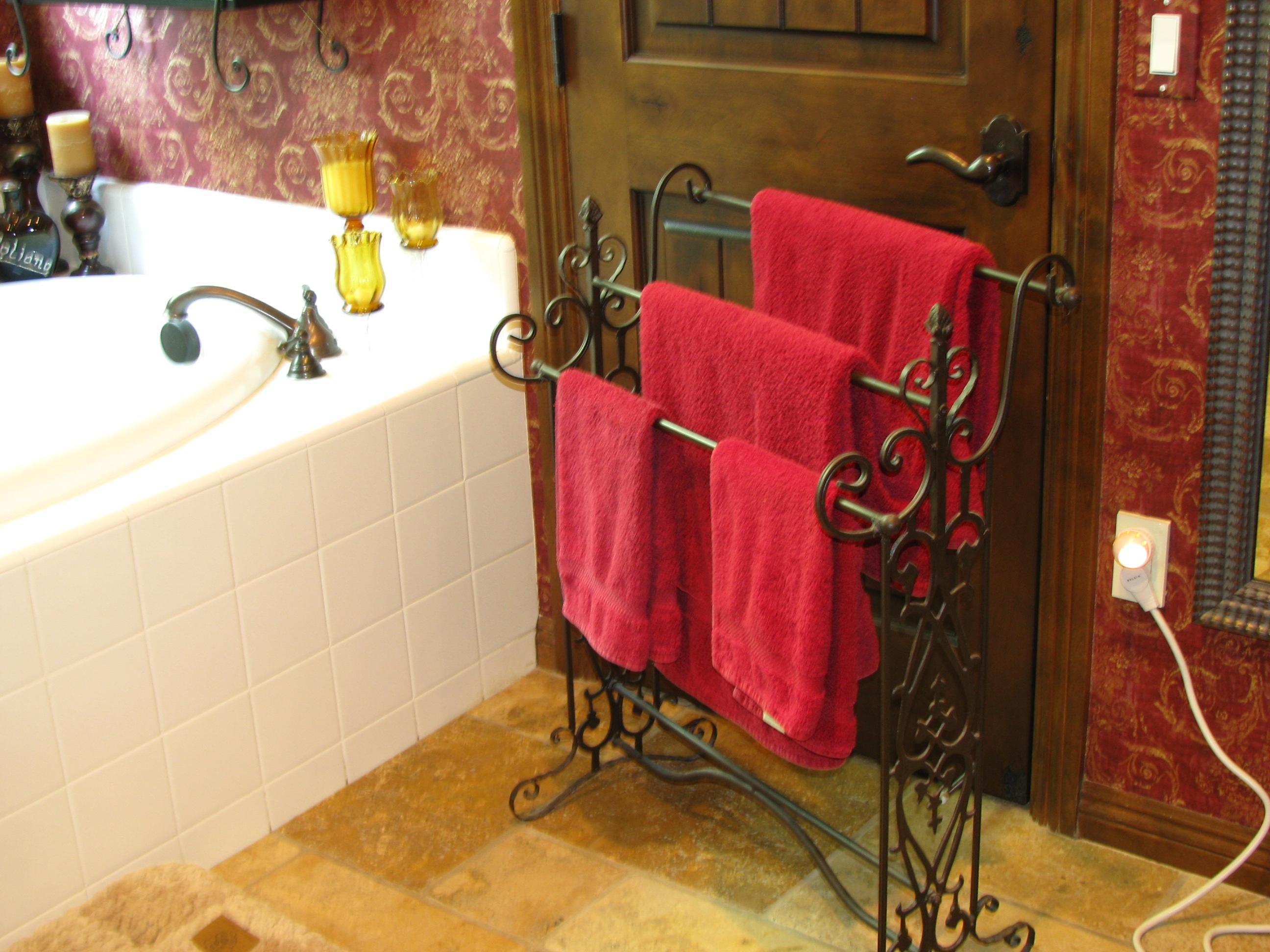 напольная вешалка для полотенец