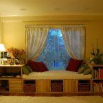 Белый тюль легкие шторы для зоны отдыха