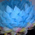 цветок лотоса из салфеток фото декора
