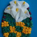 цветы из бумажных салфеток оформление идеи