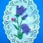 цветы из бумажных салфеток своими руками