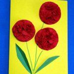цветы из бумажных салфеток своими руками идеи фото