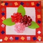 цветы из салфеток фото вариантов