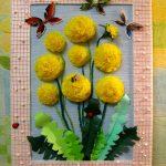 цветы из салфеток фото варианты