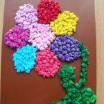 цветы из салфеток идеи варианты