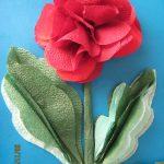 цветы из салфеток варианты