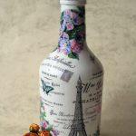 декор бутылок фото оформления