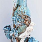 декор бутылок идеи дизайна