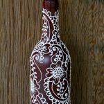 декор бутылок оформление фото