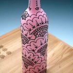 декор бутылок своими руками идеи