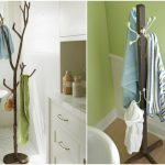 держатель для полотенец в ванную своими руками интерьер
