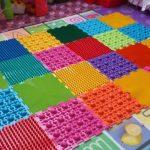 детский массажный коврик идеи оформления