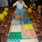 детский массажный коврик своими руками