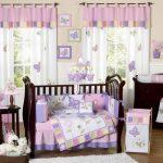 Занавески на лентах в детской комнате