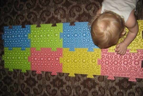 детский массажный коврик дизайн идеи