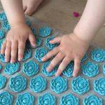 детский массажный коврик для ног дизайн