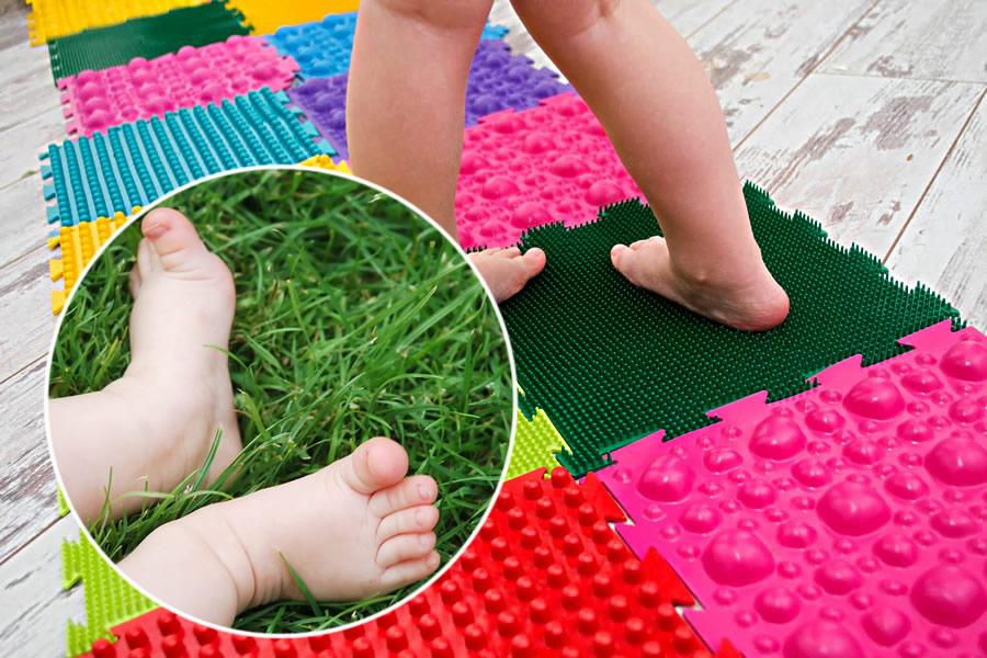 детский массажный коврик идеи оформление
