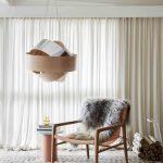 длина штор для гостиной интерьер фото