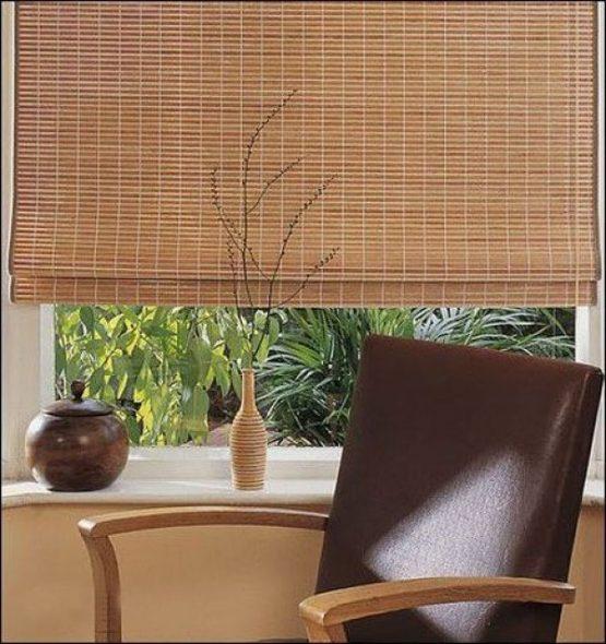 Экологичные бамбуковые шторы