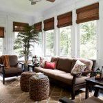 Экологичные рулонные шторы из дерева