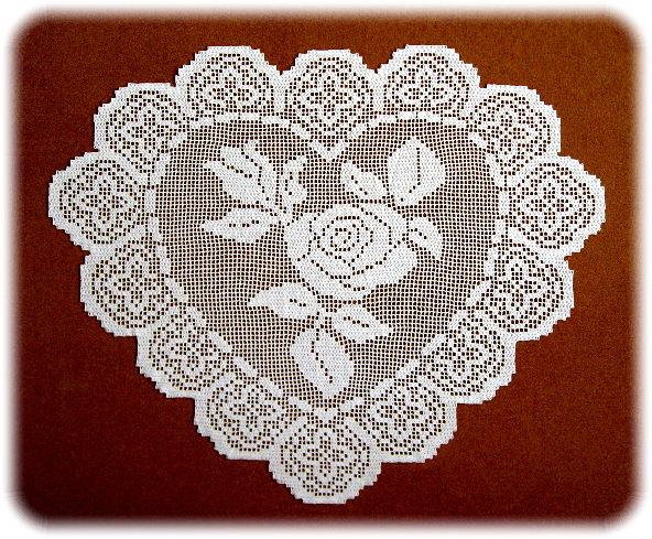 филейная салфетка крючком фото декора