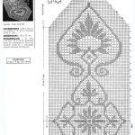 филейная салфетка вязаная крючком идеи дизайна схема