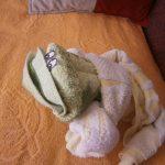 игрушки из полотенца фото декора
