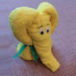 игрушки из полотенца слоненок
