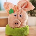 игрушки из полотенца свинья