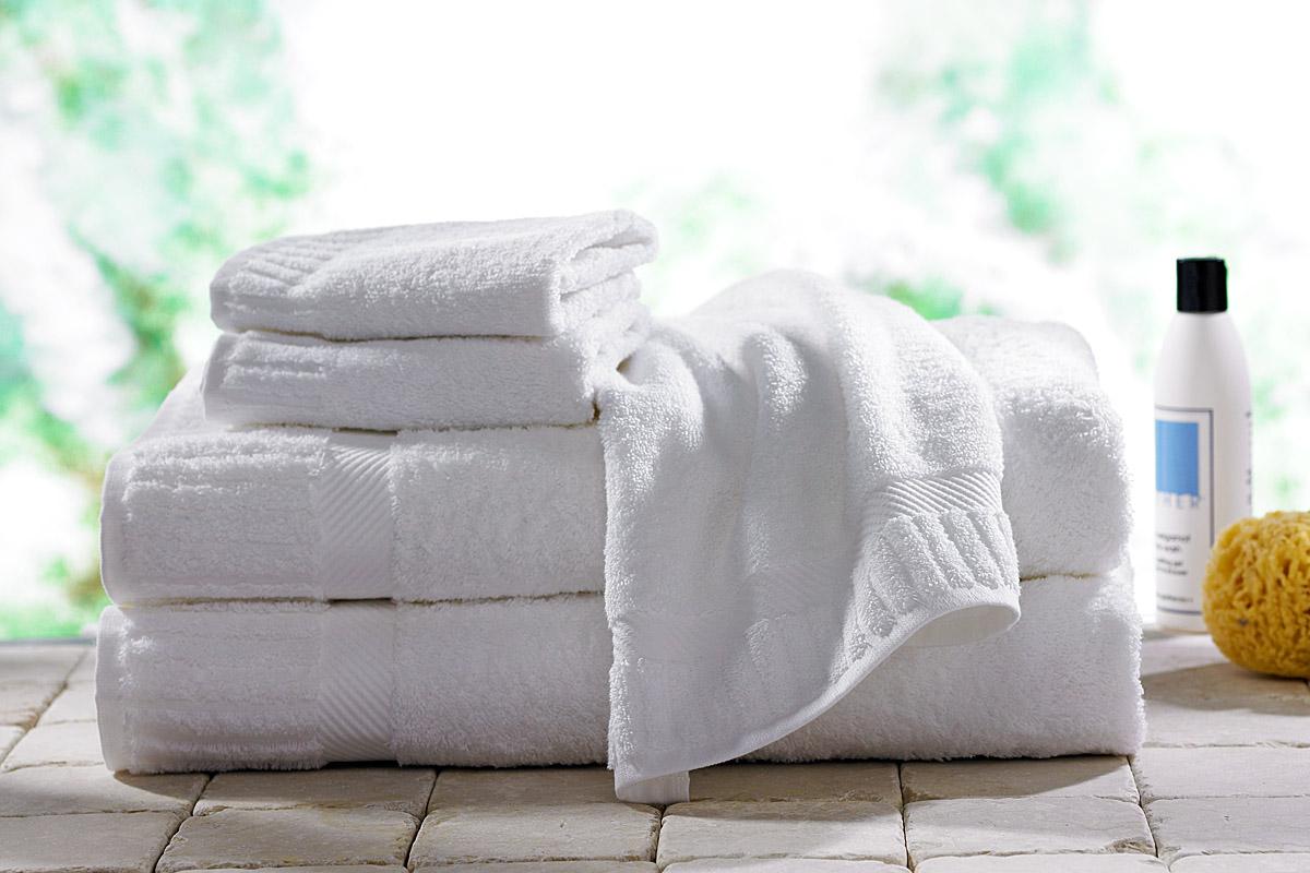 как стирать махровые белые полотенца