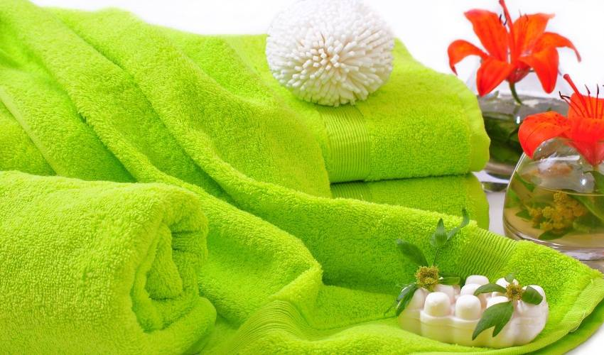 как стирать махровые пушистые полотенца