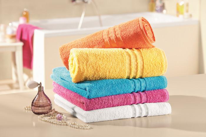 как стирать махровые пушистые полотенца цветные