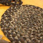 коврик из колготок декор