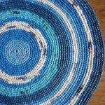 коврик из полиэтилена дизайн фото