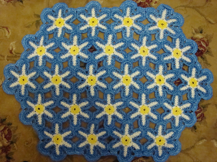 коврики из полиэтилена идеи декора