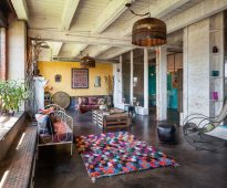 ковры в стиле пэчворк фото декора