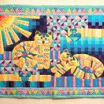 ковры в стиле пэчворк фото идеи