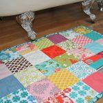 ковры в стиле пэчворк интерьер идеи