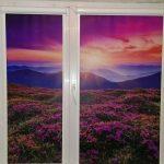 Красивые рулонные шторы с пейзажем