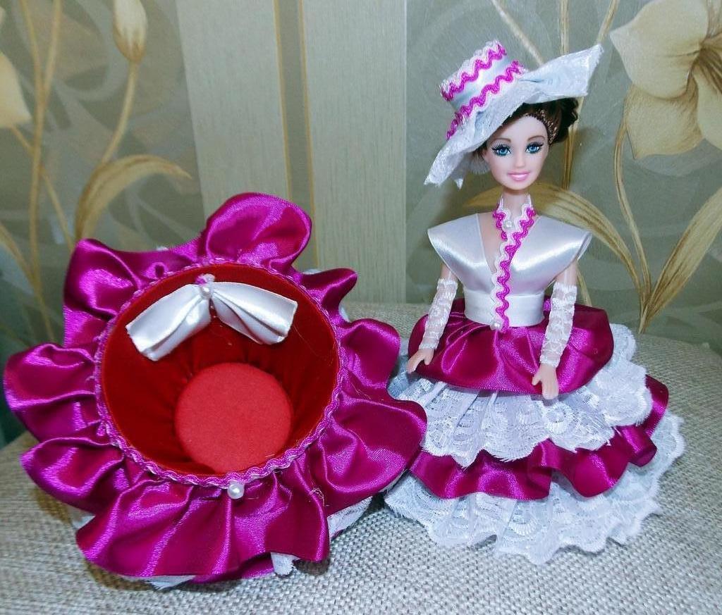 кукла шкатулка идеи дизайн