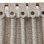 Оригинальные шторы с петлями на пуговицах